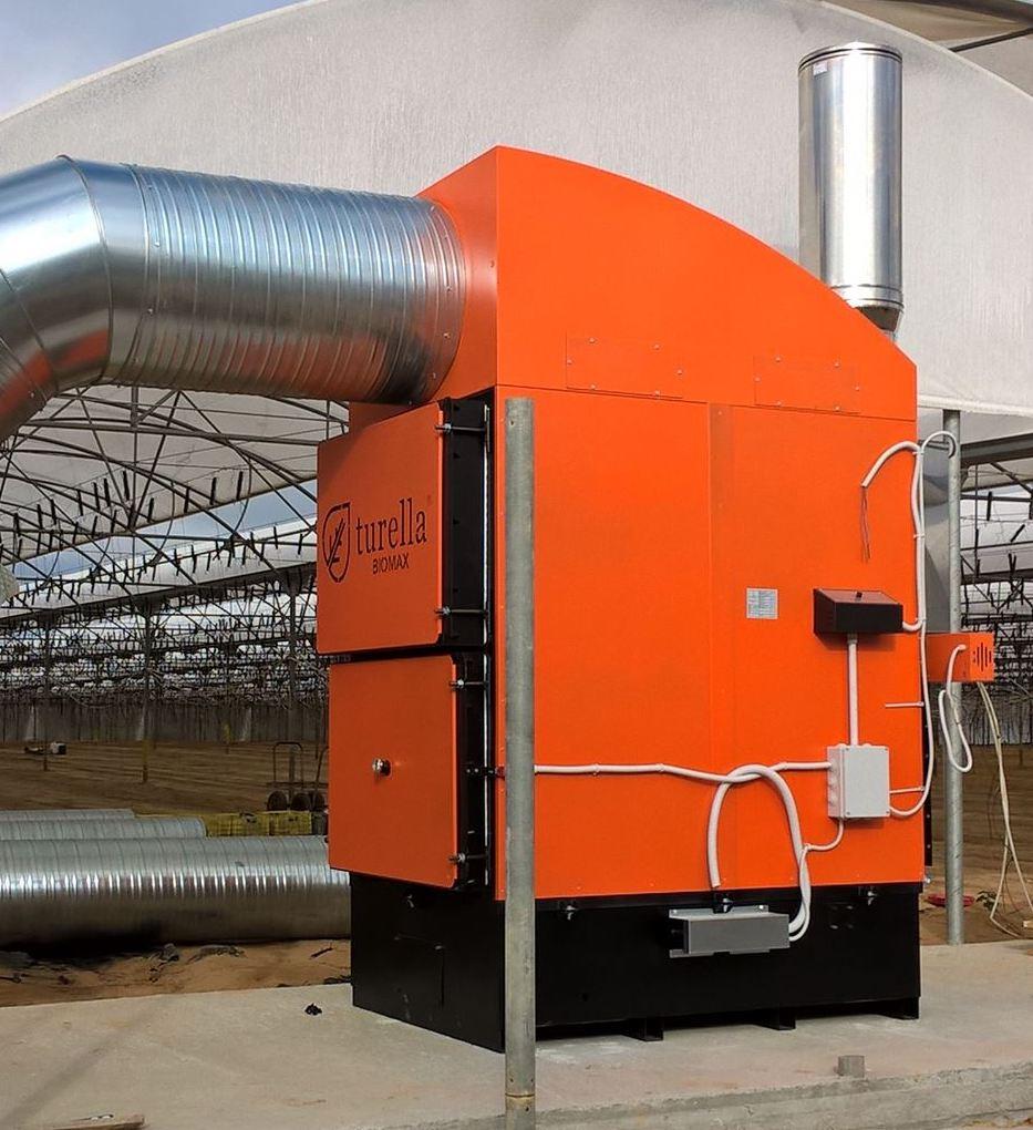 Повітряне опалення на твердому біопаливі - ЕкоЕнергоПроект