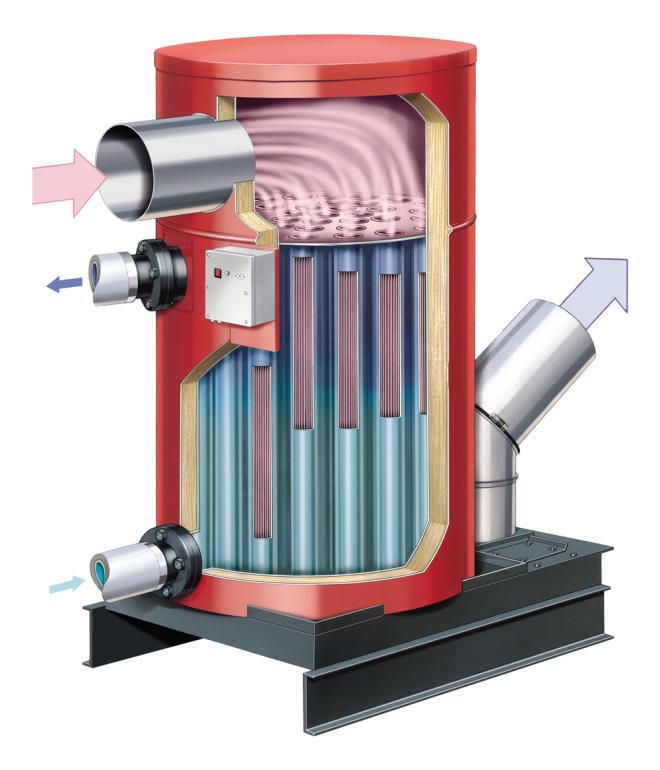 Конденсаційні теплообмінники - ЕкоЕнергоПроект