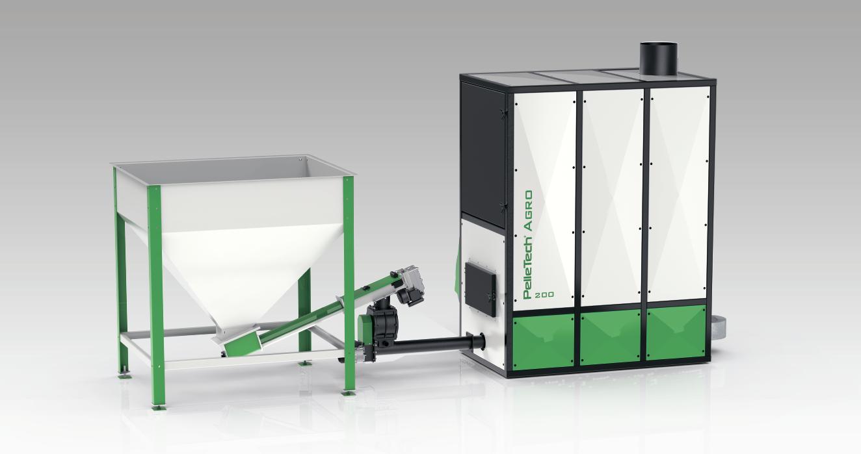 Повітряні теплогенератори PelleTech AGRO 200/350 кВт - ЕкоЕнергоПроект