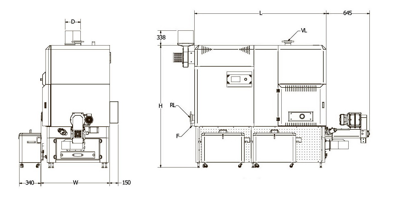 Промислові водогрійні твердопаливні котли на біомасі PelleTech IDRO 150/200/300/500 кВт - ЕкоЕнергоПроект