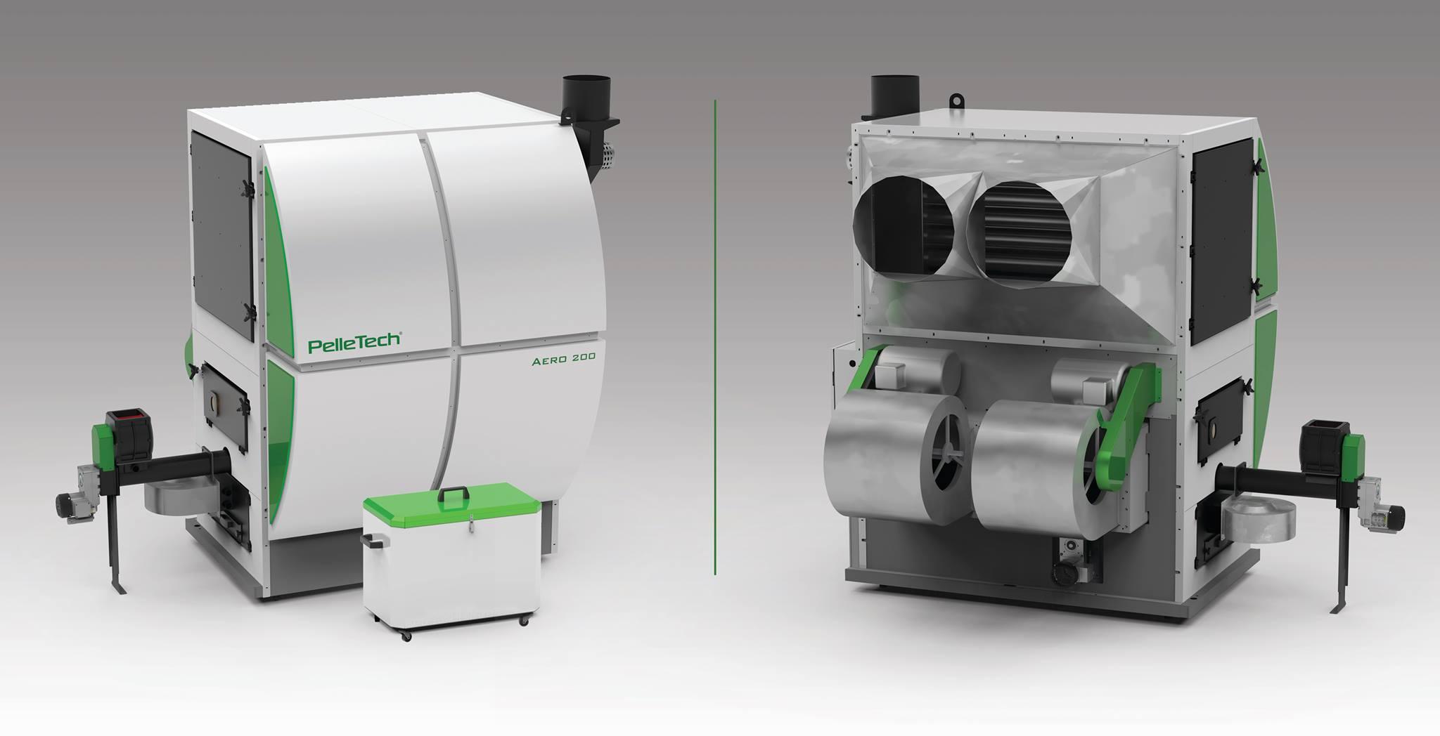 Воздушные теплогенераторы PelleTech AERO-150/200/350/500 - ЭкоЭнергоПроект