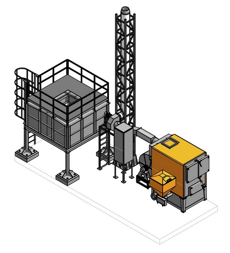 Проектные решения для установки теплогенератора на пеллетах 407 кВт - Референции | ЭкоЭнергоПроект
